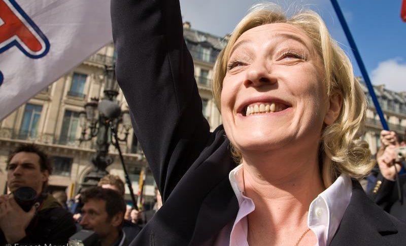 Marine Le Pen, en tête des sondages aux élections européennes, a rappelé son désir pour moins d'Europe et plus de souveraineté des états.