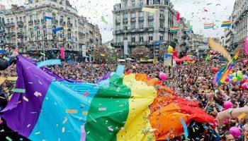 belgian pride à Bruxelles en 2018