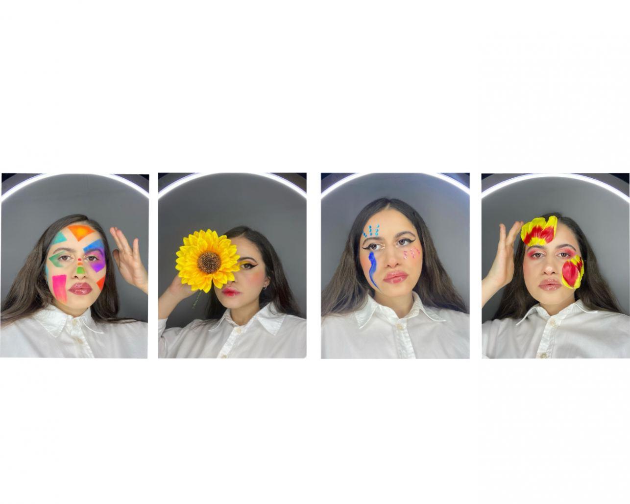 4 look de maquillage d'Alexandra