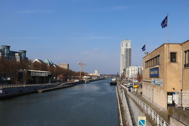 La canal sépare Bruxelles en deux